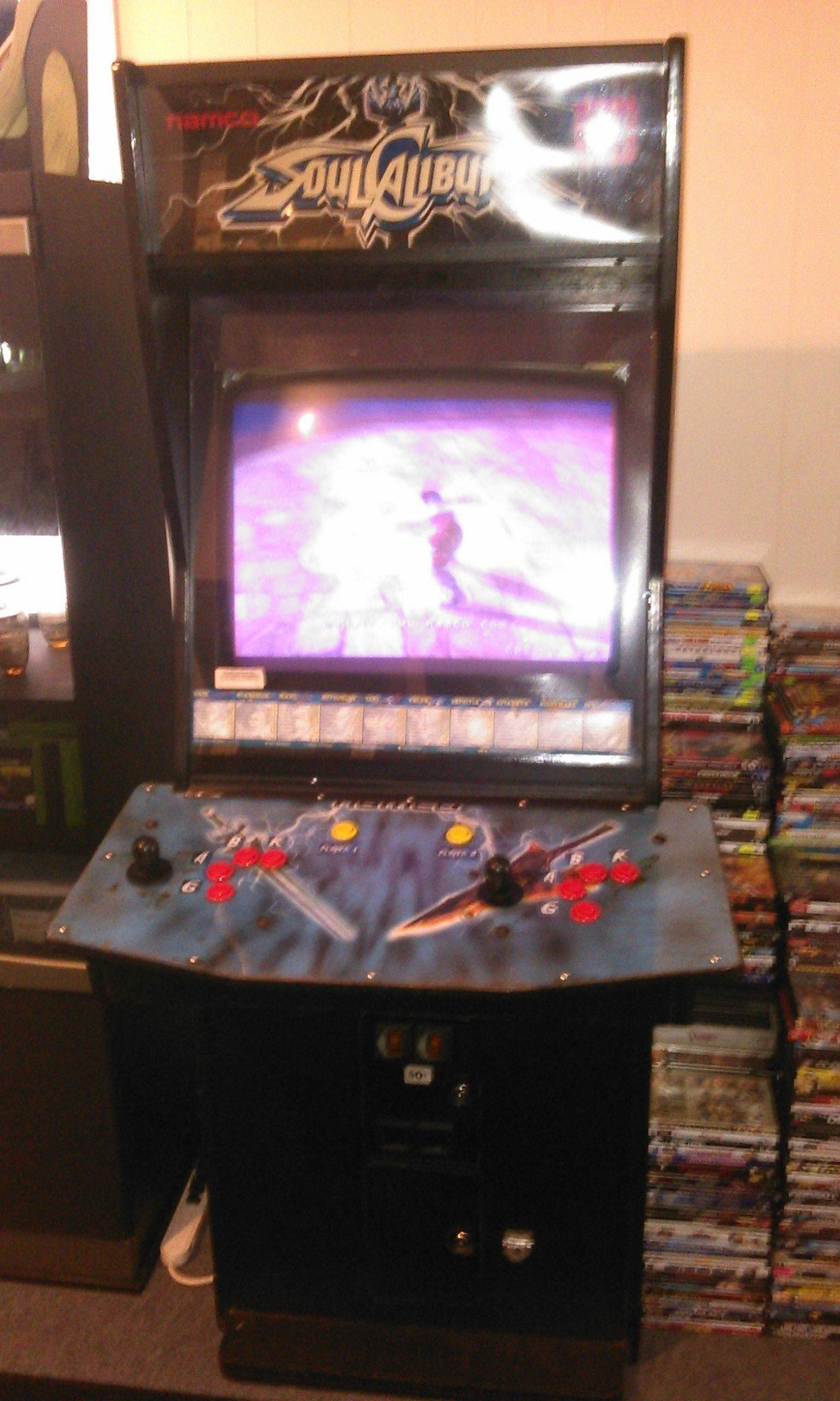 Original Soul Calibur Video Arcade Game For Sale In