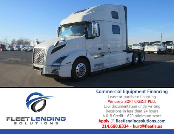 Truck, Trailer, AG & Construction Equipment Financing (Lafayette)