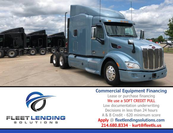 Truck, Trailer, AG & Construction Equipment Financing (Sioux Falls)