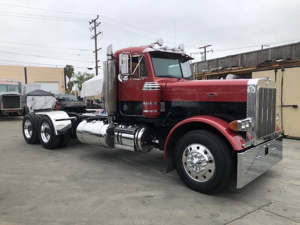 1993 PETERBILT 379 EXHD WET KIT 46K REARS (long beach)