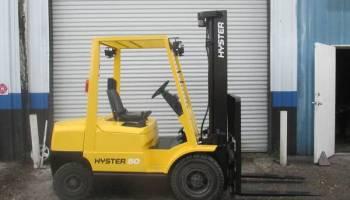 2003 Hyster H155XL2 15000 lb LPG Dual Wheel Forklift 181