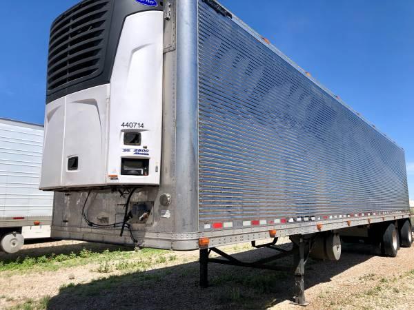 2013 carrier 06 Great Dane 48ft reefer semi trailer spread