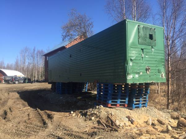 40ft conex trailer (Big Lake) $500