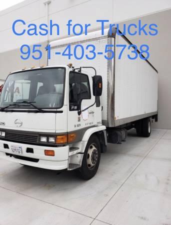 We Buy Used Trucks – Isuzu , UD , Hino, & Mitsubishi Fuso (CASH ON SPOT)