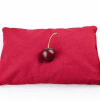 Ruby kersenpitkussen