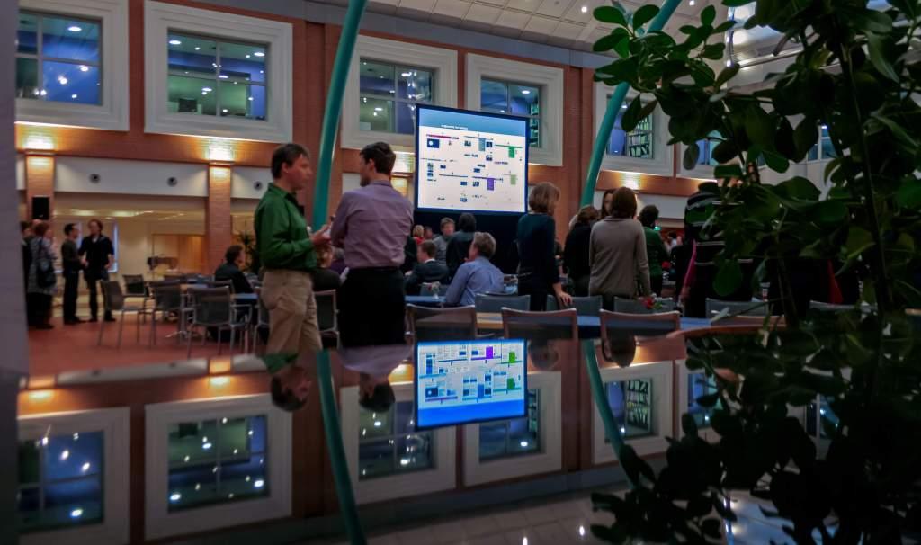 Illustratie: foto van de dag van rijksoverheid.nl. De foto hoort bij het thema co-creatie op de website Web Wednesday.