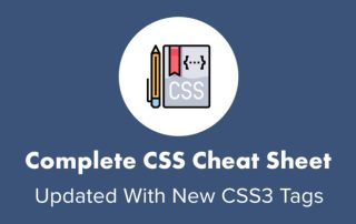 Complete CSS Cheat Sheet