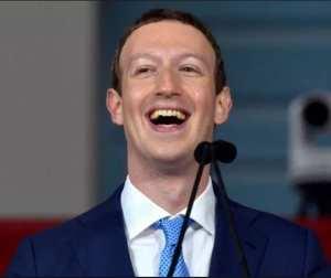 Redenen genoeg dus voor Mark Zuckerberg om te lachen