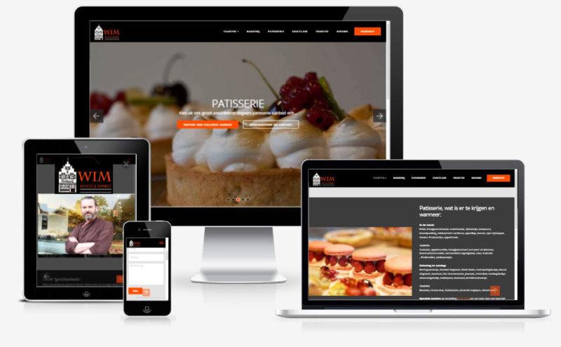 Brood, banket en speciale taarten van bakkerij Wim