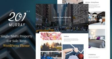 201 Murray - Single/Multi Property WordPress Theme 2