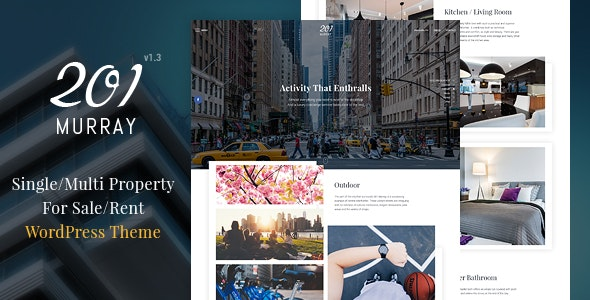 201 Murray - Single/Multi Property WordPress Theme 9