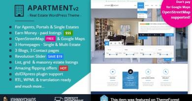 Apartment WP - Real Estate Responsive WordPress Theme for Agents, Portals, Single Property Sites 3
