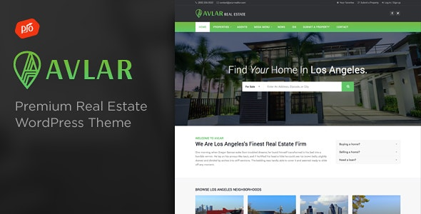 Avlar - Real Estate Theme 8