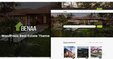 Benaa - Real Estate WordPress Theme 4