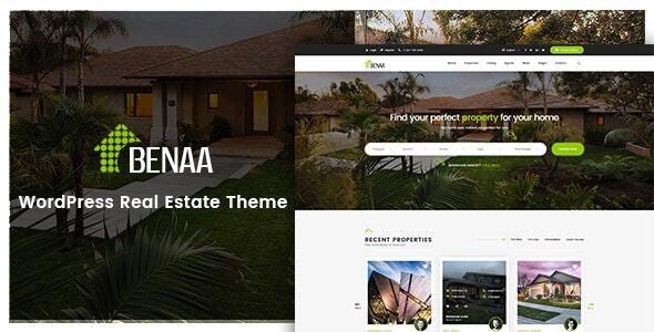 Benaa - Real Estate WordPress Theme 1