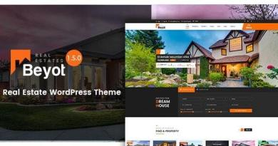 BEYOT - WordPress Real Estate Theme 2