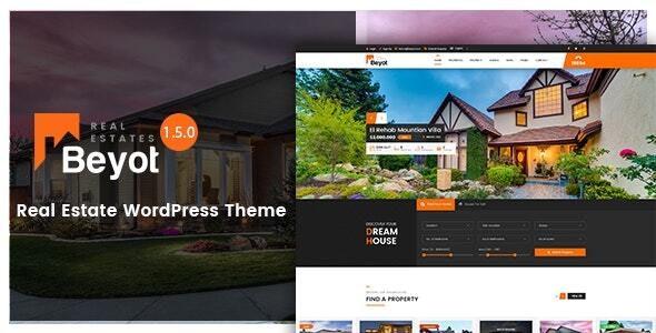 BEYOT - WordPress Real Estate Theme 1