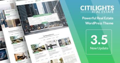 CitiLights - Real Estate WordPress Theme 4