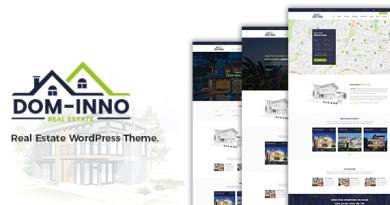 Dominno Real Estate WordPress Theme 8
