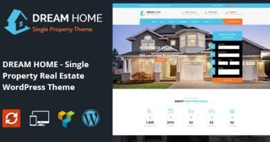 DREAM HOME- Single Property Real Estate WordPress Theme 3