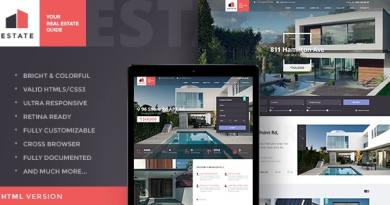 Estate - Property Sales & Rental WordPress Theme + RTL 2