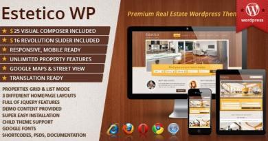 Estetico Premium Real Estate WP Theme 2