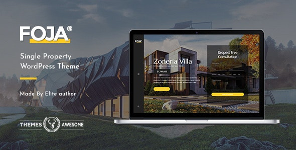 Foja | Single Property WordPress Theme 1