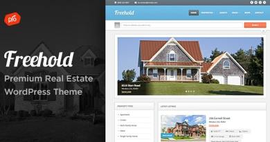 Freehold - Responsive Real Estate Theme 3