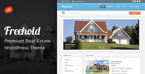 Freehold - Responsive Real Estate Theme 7