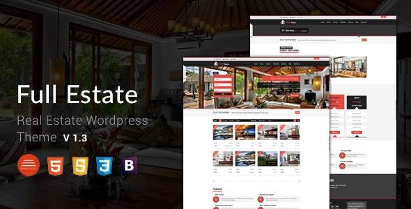 Full Estate - Wordpress Real Estate Theme 13