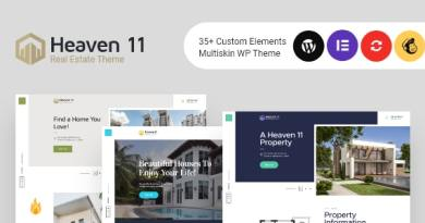 Heaven11 | Property & Apartment Real Estate WordPress Theme 2