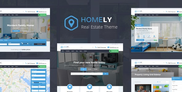 Homely - Real Estate WordPress Theme 5