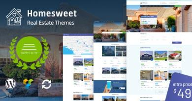 HomeSweet - Real Estate WordPress Theme 4