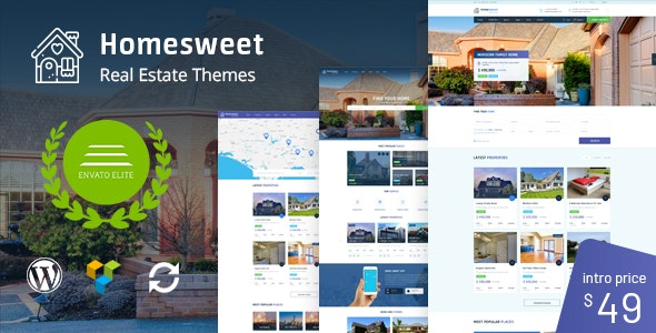 HomeSweet - Real Estate WordPress Theme 1