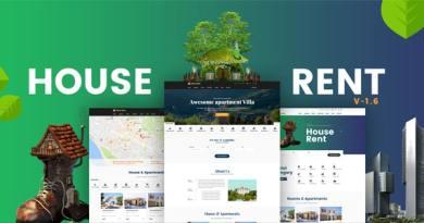 HouseRent - Multi Concept Rental WordPress Theme 4