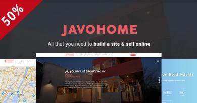 Javo Home - Real Estate WordPress Theme 2
