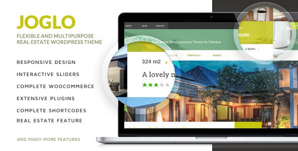 Joglo - Woocommerce Real Estate Theme 1