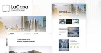 Lacasa – Interior & Exterior Decoration WordPress Theme 2