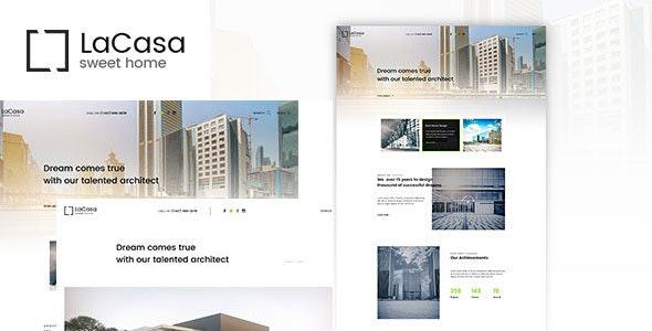 Lacasa – Interior & Exterior Decoration WordPress Theme 10