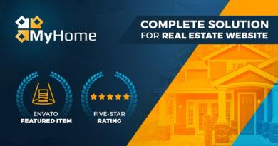 MyHome Real Estate WordPress 2