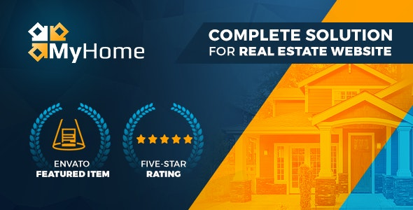 MyHome Real Estate WordPress 1