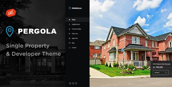 Pergola - Single Property & Developer Theme 1