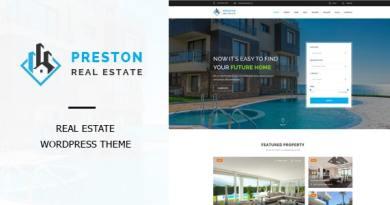 Preston - Real Estate WordPress Theme 4