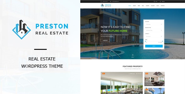 Preston - Real Estate WordPress Theme 1