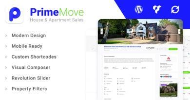 Primemove - Real Estate Property WordPress Theme 2