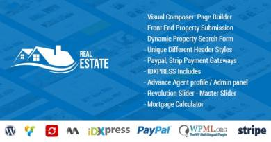 Real Estate WordPress - Real Estate WP 3