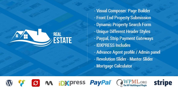 Real Estate WordPress - Real Estate WP 1