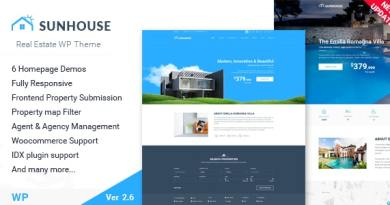 Real Estate WordPress | Sun House 5