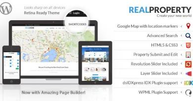 Real Property - RealEstate Theme 4