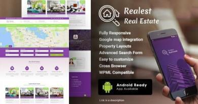Realest – Real Estate WordPress Theme 3